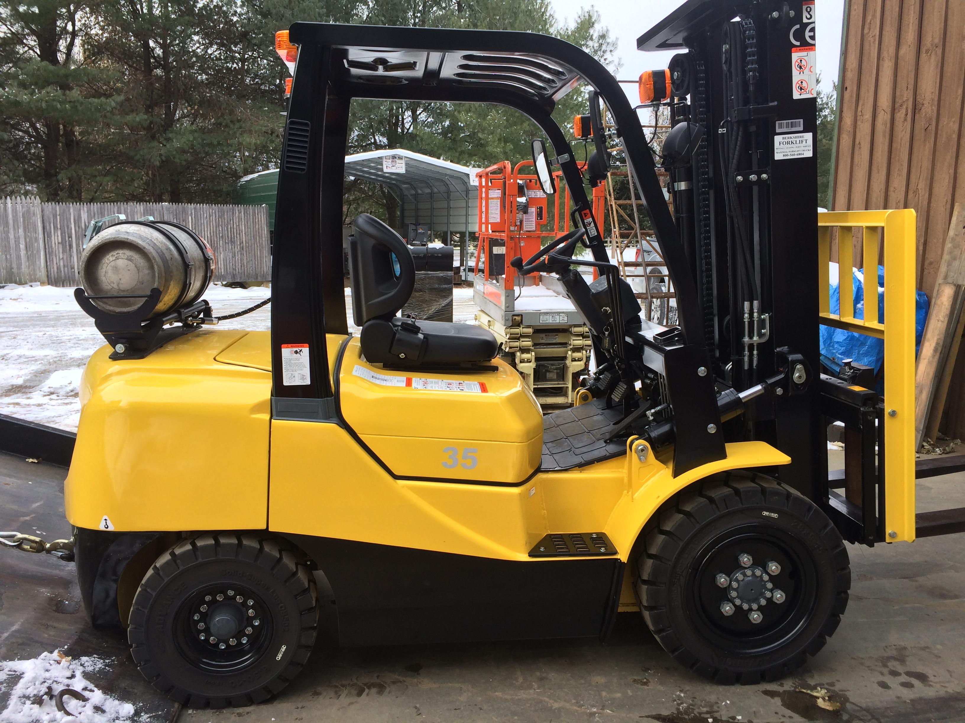 Berkshire Forklift - New Forklifts